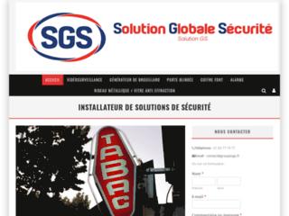 Solution Globale Sécurité