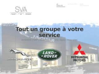 Groupe SVA |Land Rover Jaguar Mitsubishi