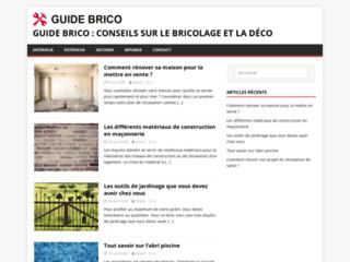 Guide Brico : le site des passionnés de bricolage et de déco