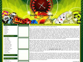 Détails : Guide Cholesterol