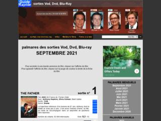 Détails : Guide Rapide - sorties dvd, blu-ray, vod