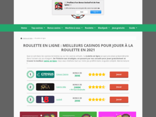 Détails : Guide roulette