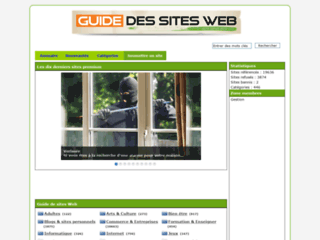 Le guide pour sites internet