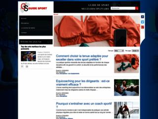Détails : Guide-Sport, suivez les actualités et événements sportifs