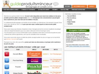 Détails : Guide Produits Minceur