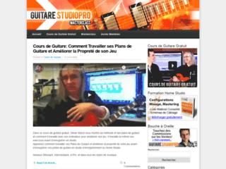 Détails : Guitare Studiopro Masterclass