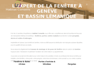 Détails : Pose de menuiseries de qualité à Genève