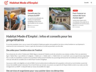 Habitatmodedemploi.com