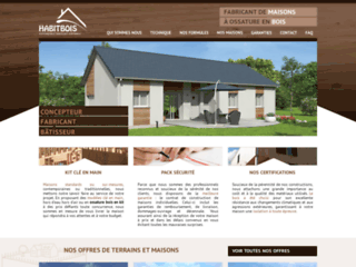Construction maison en bois pas cher avec Habitbois