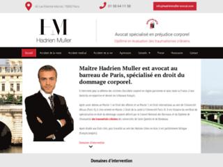 Maître Hadrien Muller, l'avocat des préjudices corporels