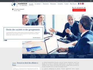Cabinet Hannoun & Avocats à Paris