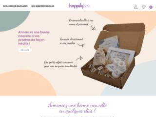 HappilyBox : Annoncez une bonne nouvelle en quelques clics