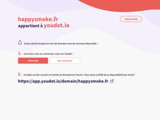 Boutique en ligne d'e-cigarettes Happy Smoke