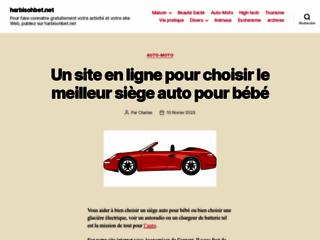 Détails : Site de communication harbisohbet.net/