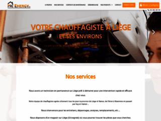 Chauffagiste à Liège et ses environs : Hc Energy