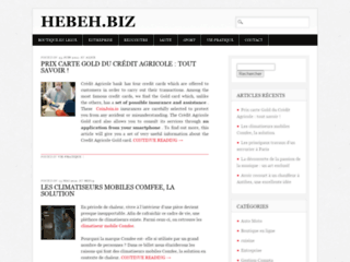 Hebeh : blog de communiqués