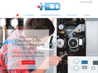 H.E.D. à Besançon pour l'entretien de votre chaudière