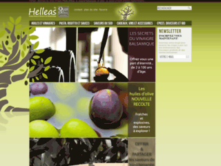 huiles d'olives et balsamiques