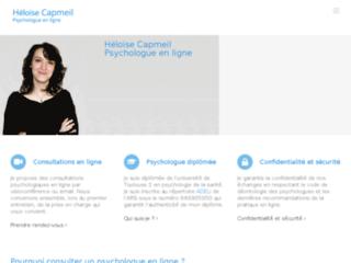 Détails : Psychologue en ligne : Héloise Capmeil