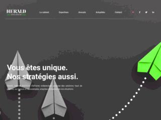 Détails : Herald, cabinet d'avocats d'affaires indépendant à Paris