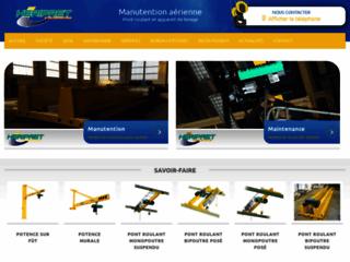 Détails : Experte dans la conception et la maintenance d'appareil de levage