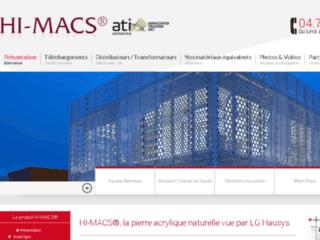 Détails : Matériau de Synthèse Hi-Macs Pierre Naturelle Acrylique