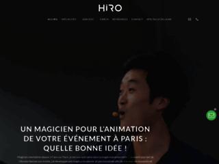 Magicien Paris Mentaliste - Hiromagie, une Magie adaptée à votre Image !