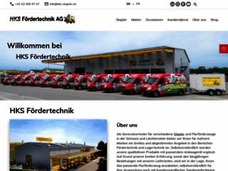 HKS Fördertechnik AG spécialiste des Chariots de manutention