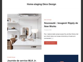 Home-staging Déco Design, le blog de la décoration