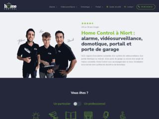 Installation alarme, vidéosurveillance et domotique : Home Control à Chauray