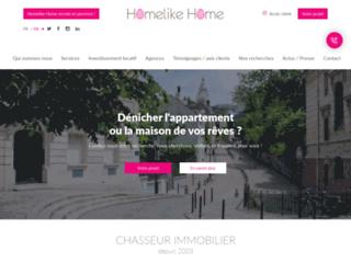 Détails : Homelike Home, Chasseur immobilier sur Paris