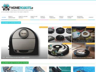 Détails : Les robots domestiques sur Homerobot