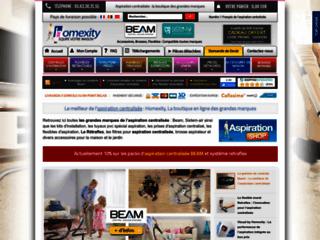 Détails : Homexity, aspiration centralisée et équipement de la maison