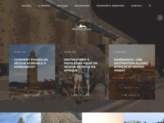 homiros tours transfert aéroport à marrakech