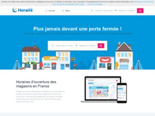 Détails : Horaire, horaires d'ouverture des magasins en France