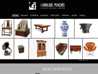 Détails : L'horloge penchée - Dépôt vente à Caen