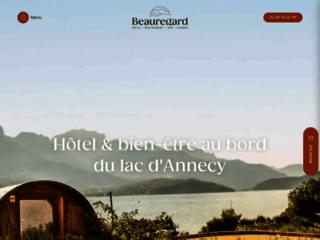 Détails : Découvrez l'hôtel Beauregard à Annecy