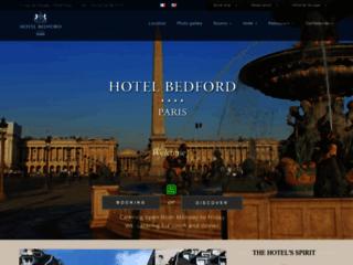 L'Hôtel Bedford : les meilleurs services hôteliers au cœur de Paris