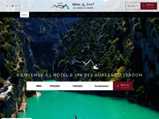 Hotel des Gorges du Verdon à La Palud sur Verdon