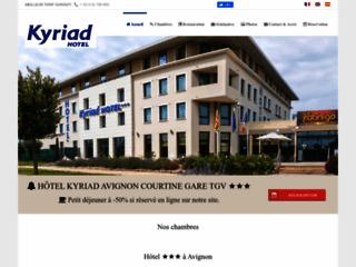 Détails : Hôtel Kyriad Avignon Courtine Gare TGV, hôtel 3 étoiles