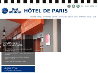 Hotel à Laval - Best Western Hôtel de Paris