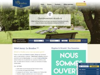 Détails : Hôtel sur Auray Le Branhoc 2 étoiles