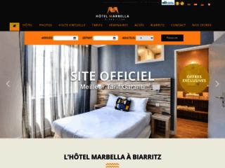 Détails : Hôtel biarritz vue mer Le Marbella