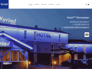 Détails : Hotel Kyriad 2 étoiles à Montauban