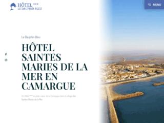 Le Dauphin Bleu : Hôtel Saintes Maries de la Mer