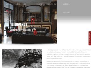 Détails : Hôtel tour Eiffel Paris