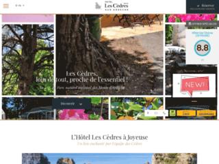 Hôtel les Cèdres ***