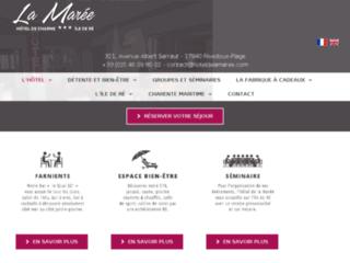 Détails : Hôtel restaurant Charente maritime
