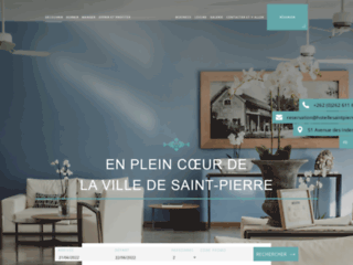 Détails : Hôtel Le Saint-Pierre à La Réunion
