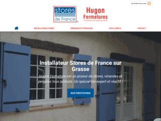 Hugon Fermetures : entreprise d'installation de stores, vérandas & pergolas vers Grace